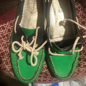 Women sperry shoes size 10